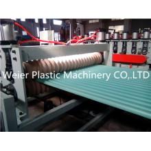 Máquinas para fazer telhas de plástico, telhas