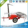 Rastrillo / cortacésped de heno de Farm Tractor con rastrillo Cortador de maleza machinary agrícola