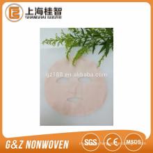 natural plant extractive camellia fiber facial mask sheet