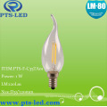 C35ta 1W 2W LED de 4W de 3W filamento iluminación de la vela
