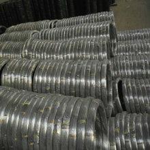 Fio Oval galvanizado de aço de carbono alto