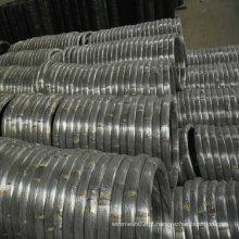 Fio oval galvanizado de aço carbono alto
