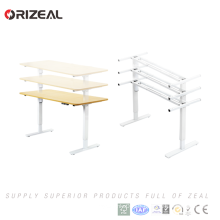 Wholesale Electric Office Computer Standing Desk Height Adjustable Desk For Sale