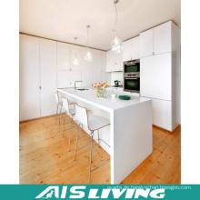 MDF Weiß PVC Küchenschrank Möbel (AIS-K006)