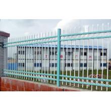 Cerca de aço industrial revestida em pó de estrutura sólida