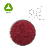 Reagente químico em pó de sal de sódio vermelho de fenol 99%