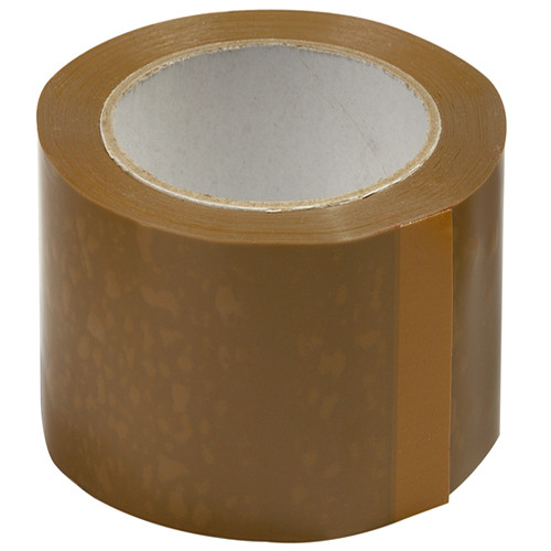 Brown packing sticky shipping tape