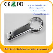 Kundengebundener Logo-Schlüssel-Gedächtnis-Stock-MetallUSB-Blitz-Antrieb (EM054)