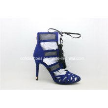 2017ss Sandálias elegantes de salto alto Mulheres Sandálias elegantes