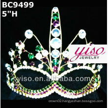 mask crown and tiara