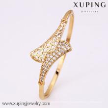 50783 - Brazalete plateado oro de la manera de la joyería de Xuping 18K