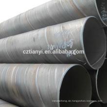 ERW schwarz geschweißtes Stahlrohr