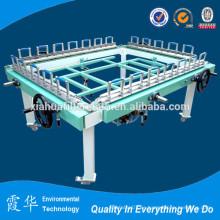 Equipo de fabricación de malla de poliéster recubierto de vinilo