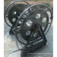 Cabrestante de cable de color negro