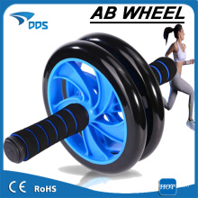 Body fitness training power strength indoor AB Roller and AB exercise double wheel for sale
