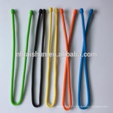 Cravate en silicone réutilisable pour l'organisation de câbles Accessoires de cravate