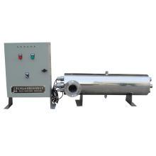 Esterilizador UV de abrigo de aço inoxidável da desinfecção da água da piscina