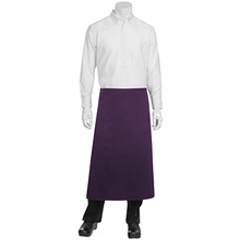 Two patch pocket long half apron