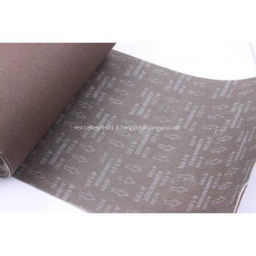Bande de meulage d'acier inoxydable d'oxyde d'aluminium calciné 871K