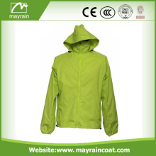 Fashionable Breathable Windbreaker Waterproof Rain Jacket