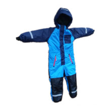 Blue Hooded Waterproof Sealant Jumpsuits