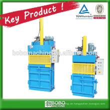 hydraulische vertikale PET-Flaschen-Kompaktor-Ballenpresse