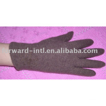 guantes de lana de mujer