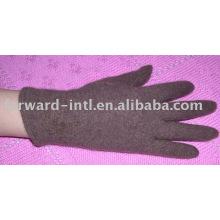 шерстяные перчатки женские