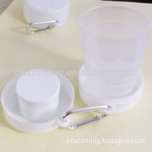 Promotional cheap reusable plastic collapsible cup