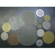 25/50/150 micra de malha de arame inoxidável / malha de malha metálica