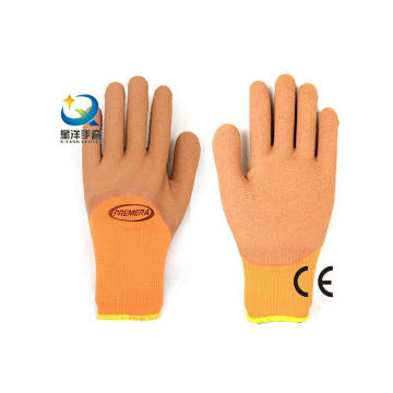 Terry Napping Lining Latex 3/4 Foam Coated Work Gloves