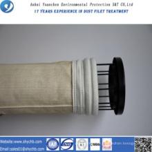 Bolsa de filtro no tejida de Aramid del colector de polvo para la planta de asfalto de la mezcla