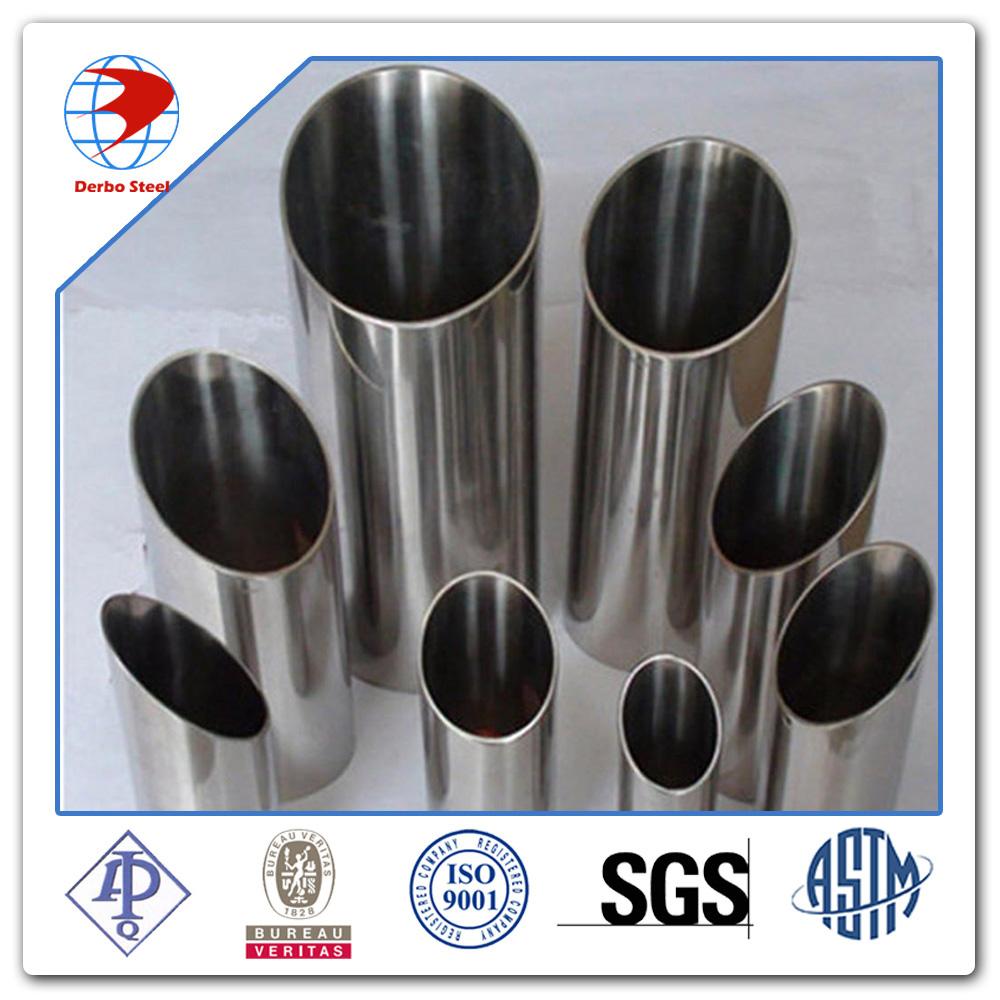 سلس الفولاذ المقاوم للصدأ الأنابيب أستم a312 tp316