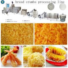 Chaîne de fabrication de chapelure de pain granulaire sèche pas cher jaune