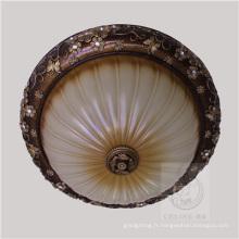 Lampe de plafond en résine avec teinte beige (SL92678-3)