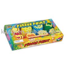 8-Farben-Schwamm Fingerfarbe