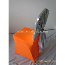Capas de cadeira Spandex baratos e faixa para casamentos e banquetes