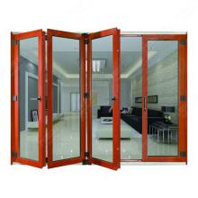 Aluminium Frame Material billig Haus Falttür zu verkaufen