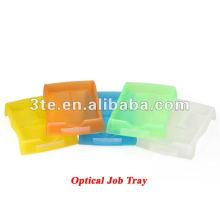 Plateau de travail optique en plastique Bac à laboratoire