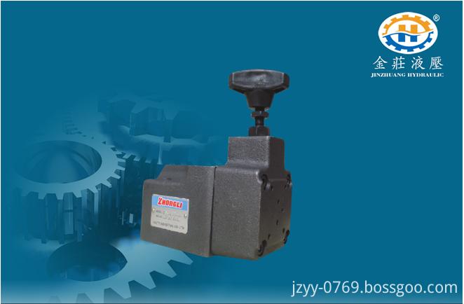 pressure reducing control valve
