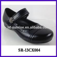 Kinder schwarze Schule Schuhe Teenager Mädchen Schule Schuhe Kinder Schule Schuhe