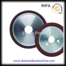 Roda de moagem de diamante vitrificado para carboneto de tungstênio