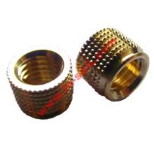 Multi-Barb Brass Inserts pour les pièces en plastique