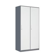 Fadeless multi-function 2 door industrial metal wardrobe