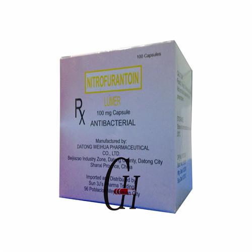 Nitrofurantoin Capsule Antibacterial