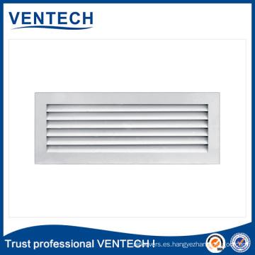 Rejilla de aire de puerta decorativa para uso de ventilación