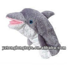 new type stuffed plush dolphin hand puppets