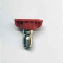 Rondelle haute pression Buse de 0 degré Couleur rouge