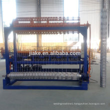 Hinge joint grassland fence machine