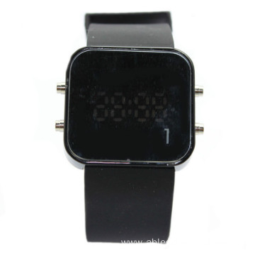 new sport touch mirror led watch